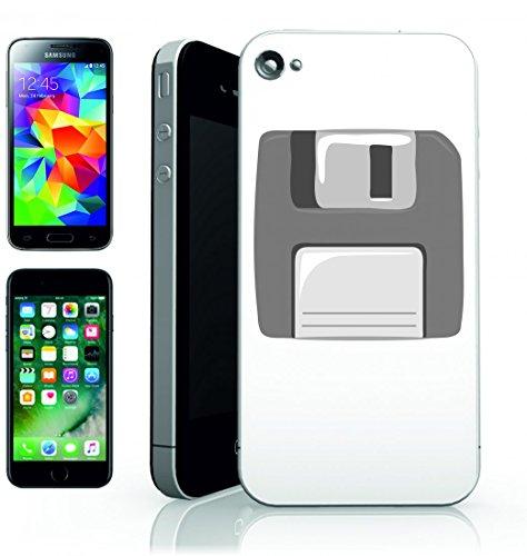 Smartphone Case diskette di dati del disco rigido di stoccaggio della tecnologia del disco del computer di informazioni alte di retro per Apple Iphone 4/4S, 5/5S, 5C, 6/6S, 7& Samsung Galaxy S4, S