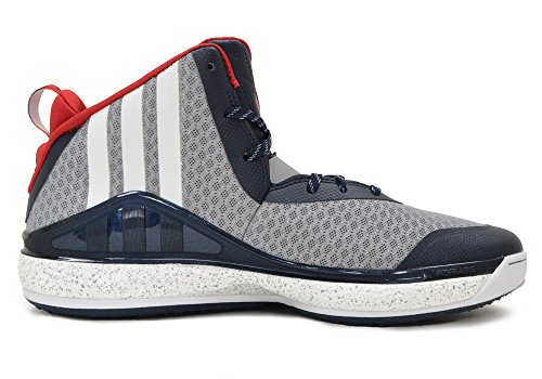 Adidas J mur Mens Salut Top Basketball Formateurs C76581 Sneakers Chaussures (uk 10 Us 10,5 Eu 44 2/ LTONIX/FTWWHT/SCARLE C76581