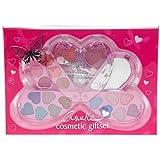 Casuelle Girls Enfants à maquillage compacte Maquillage forme de cœur 21pièces (E538)
