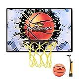Podiumax Mini Basketballkorb Set für Tür, Street Style Basketball Wandhalterung Hoops & Ziele perfekt für Schlafzimmer, Büro Shoot & Dunk, mit Mini Ball und Pumpe