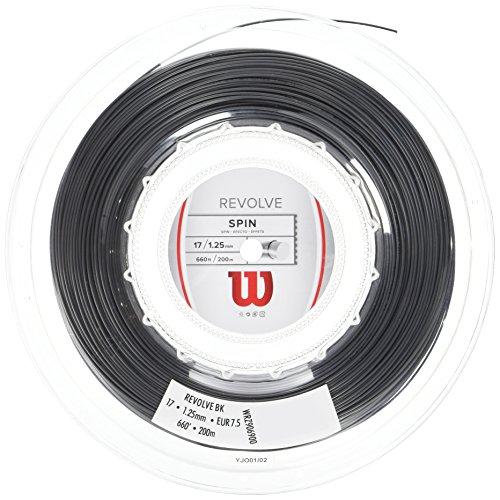 Preisvergleich Produktbild Wilson Erwachsene Besaitung von Schläger Revolve Reel,  Schwarz,  17,  0887768277727