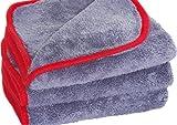 Glart 443TP Premium Flausch 3er Set Mikrofasertücher