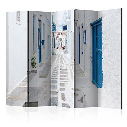 murando Paravent XXL: 225x172 cm Reversible Impression sur Papier intisse 100% Opaque Foto Paravent Deco Paravent Decoratif pour Chambre Paravent en Bois avec Impression d-B-0097-z-c