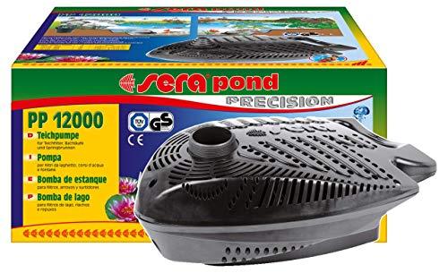 sera pond PP Teichpumpe - energiesparend, aber gleichzeitig leistungsstark mit Überhitzungsschutz für den Teich Einsatz als Filterpumpe oder Bachlaufpumpe im Gartenteich oder Koiteich