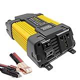 Inverter 500w 12v a 220v Auto Car Power Converter Onda Modificata Invertitore di Tensione Dual USB Port 4.2A LED Display Potenza di Picco 1000w Accendisigari per Auto UnionFan