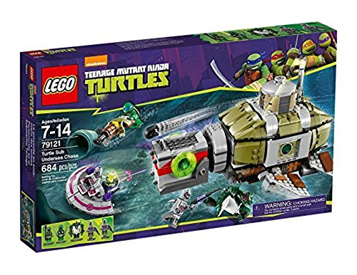 (LEGO Teenage Mutant Ninja Turtles 79121 - Verfolgungsjagd im U-Boot)
