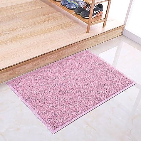 Anello di filo del colore per ottenere terreno/tappetino di plastica/ cuscinetto di polvere di filatura del/tappetini da bagno antiscivolo/tappetini auto nella Hall-D 38x58cm(15x23inch)