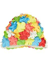 Beco de goma flor Campana de natación, unisex, color carbón, tamaño Talla única