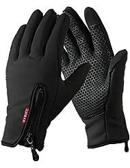 YYGIFT® Touch Screen Gloves Outdoor Sports Winter Gloves Wind-stopper for Men Women