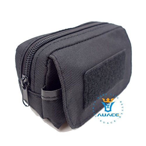 Multifunktions Survival Gear Tactical Beutel MOLLE POUCH Erkennung Taille Bag, Outdoor Camping Tragbare Travel Bags Handtaschen Werkzeug Taschen Handy Pouch BK
