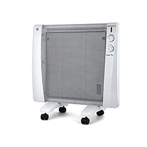 Orbegozo RM 2000 – Radiador de mica, 3 niveles de calor, termostato regulable, sistema antivuelco, protección contra…