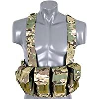 TFG GILET TATTICO CHEST RIG SOFTAIR (MULTICAM)