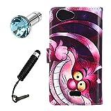 Lusee® PU Kunstleder Tasche für Wiko Pulp 3G / 4G 5.0