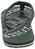 Tommy Hilfiger Herren Essential TH Beach Sandal Zehentrenner, Grün (Jungle Green 300), 43 EU - 2