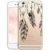 OOH!COLOR Bumper Compatible pour iPhone 6s, Coque iPhone 6 Transparente avec Motif...