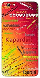 Kapardini (Popular Girl Name) Name & Sign Printed All over customize & Personalized!! Protective back cover for your Smart Phone : Moto G2 ( 2nd Gen )