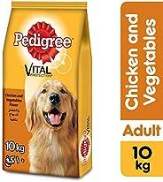 PEDIGREE Chicken & Vegetables, Dry Dog Food (Adult), 10kg
