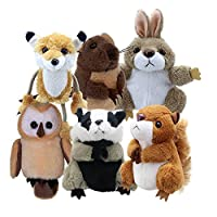 The Puppet Company - Finger Puppets - Woodland Animals Set of 6