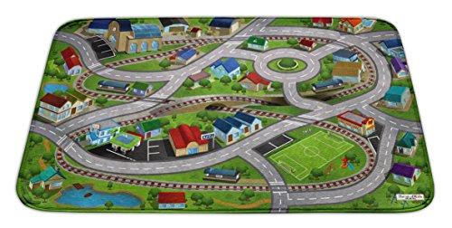 House of Kids 88229-e3Ultra Soft Station Spielmatte Polyester Mehrfarbig 95x 0,5x 70cm