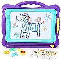 Hailey&Elijah Magnetisches Größe Zaubertafel für Kinder,Pädagogische Magnettafel Spielzeug-Geschenk mit 5 Form- Zaubertafel für Kinder ab 3 Jahren