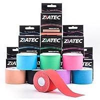 Preisvergleich für Ziatec Pro Kinesiologie Tape - viele Farben und Packs verfügbar - Physio-Tape - Sporttape 100% Baumwolle