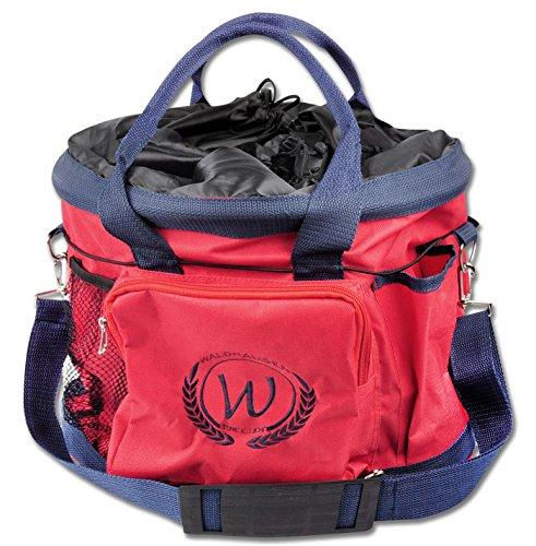 Putztasche rot Pferdeputztasche Putzbeutel mit Trageriemen