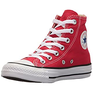 Converse Chuck Taylor All Star, Unisex-Erwachsene Hohe Sneakers, Rot (Red), 43 EU