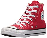 Converse Chuck Taylor All Star, Unisex-Kinder Hohe Sneakers, Rot (Red 600), 33 EU
