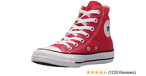 d8688904 Converse Unisex Chuck Taylor All Star Canvas Hi-Top Trainers: Amazon.co.uk:  Shoes & Bags