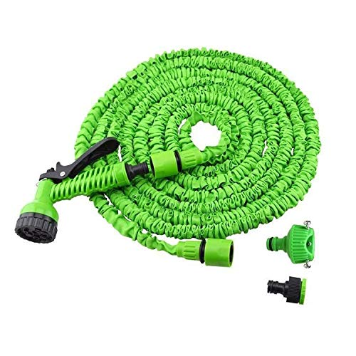 MCL-schlauchaufroller Garden Expanding Expandable Hose, 3-Fach Flexibler Magic-Wasserschlauch | Schlauchverbinder Fittings | 7 Funktionsspritzpistole (größe : 22.5M) - Tür-hardware Wagen