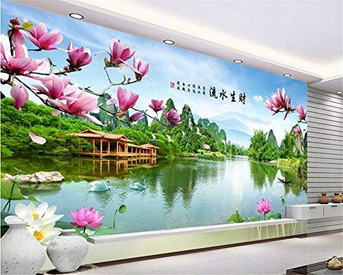 MuralXW 3D hochwertige Mode persönlichkeit tapete geeignet für Dekoration Landschaft tv Hintergrund Wand 3D tapete-450x300cm