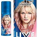 Schwarzkopf Live Farbe Spray Rose Gold Blush 120ml One Wash