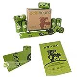 Sacchetti biodegradabili in rotoli Ecohound – sacchetti per i bisogni del cane a prova di perdite.