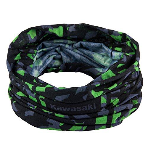 Kawasaki Halstuch, Farbe schwarz/gruen, Size Unisize