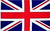 nicebuty–United Kingdom UK Flagge British Union Jack Flagge Großbritannien Flagge British National Flagge 3x 150bedruckt Qualität Polyester mit Tüllen Messing doppelt genäht