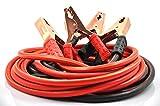 XINCOL Strapazierfähiges Schwerlast-Starthilfekabel - 2500 A - 100%-Kupferdraht-Starthilfekabel für LKWs - wärmeisoliert - mit Tasche - 5 M