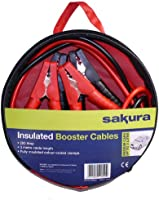 Sakura SS3625 - Cavi batteria isolati, 200 A, lunghezza 3 m