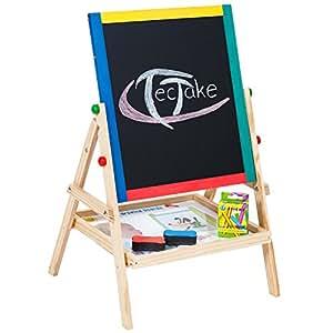 Tectake Children S 2in1 Multifunctional Board Blackboard