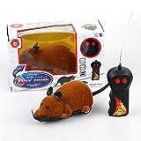 Hund Katze Komisch Spielzeug Elektrisch Maus Klein Mittel Groß Haustier Interaktiv Spielen Kabellos Fernbedienung Steuerung Zum Kätzchen Hündchen Kinder