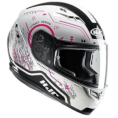 HJC CS-15 Safa Pink Ladies Motorcycle Motorbike Helmet Safety Womens MC8 from HJC