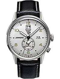 Junkers Herren-Armbanduhr XL G 38 Analog Quarz Leder 69404