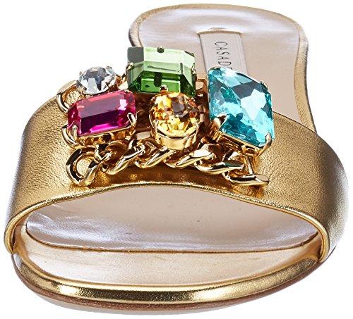 Casadei 1m321, Sandales  Bout ouvert femme Gold (Oro)