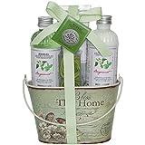 Gloss!, Set di prodotti per il bagno, aroma: Bergamotto e Basilico, 5 pz.