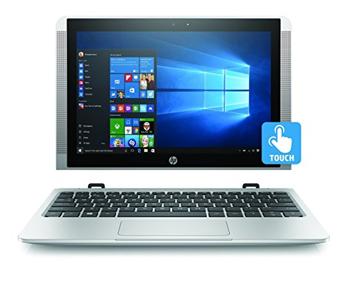 HP x2 10-p000na 10.1-inch Touch Screen Detachable Laptop (Natural Silver) - (Intel Atom x5-Z8350, 2GB RAM, 32GB eMMC, Intel HD Graphics 400 Windows 10)