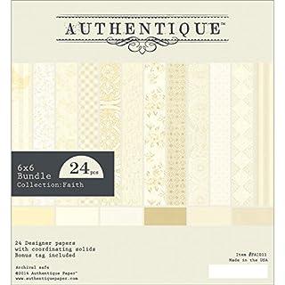 Authentique Paper Authentique Bundle Cardstock Pad x 6-inch 2-Faith