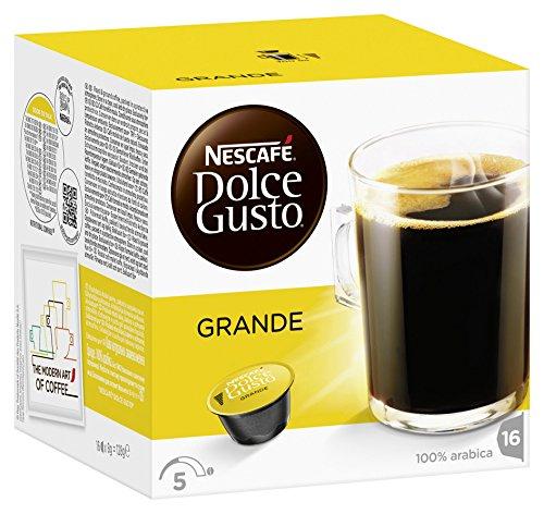 Nescafé Dolce Gusto Kaffeekapseln, Grande, 3er Pack (48 Kapseln) 385g
