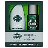 BRUT Gift Set contains Shower Gel 250 ml and Deodorant 200 ml