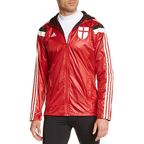 adidas AC Milan Anthem Home Veste Homme Victory Red S04/Black/Running White/Running Rouge