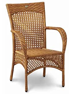 best 44120000 korbsessel madelene wei garten. Black Bedroom Furniture Sets. Home Design Ideas