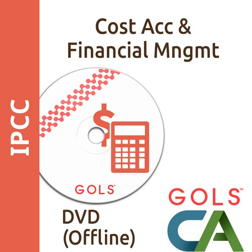 GolsCACoaching IPCC Coaching Paper 3 Cost Accounting And Financial Management (DVDs)